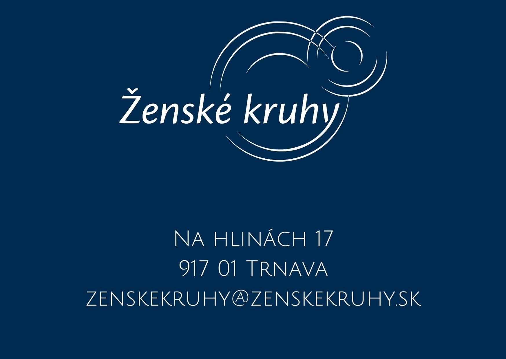 Na hlinách 17 917 01 Trnava zenskekruhy@zenskekruhy.sk (1)